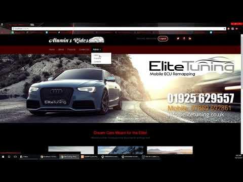 Web API Project   Car Sales Website