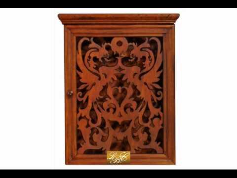 collection cristina schl sselkasten aus holz youtube. Black Bedroom Furniture Sets. Home Design Ideas
