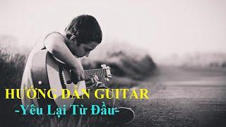 Yêu lại từ đầu Khắc Việt solo - Guitar Tab[Hướng dẫn Guitar]