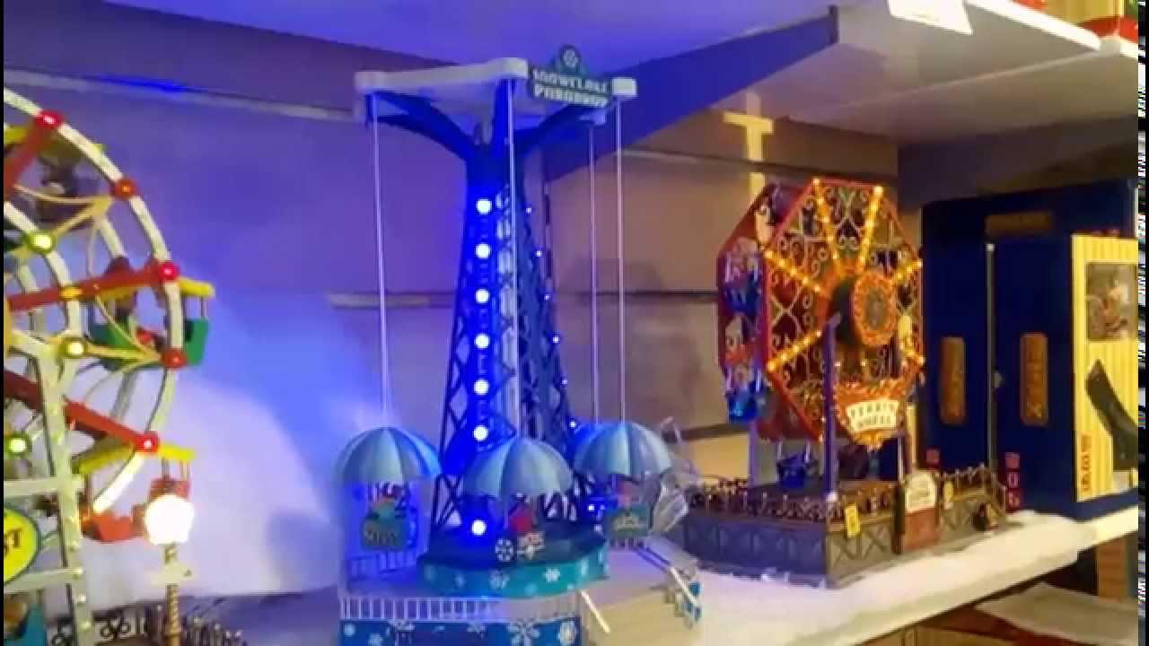 Villas navide as 2017 carrusel navide o musical youtube for Villas navidenas de porcelana