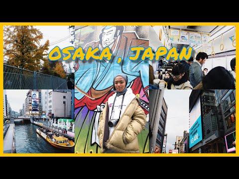 VLOG #1: OSAKA, JAPAN + my first time vlogging
