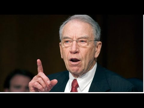 SENATOR GRASSLEY BUSTS THE FBI TRYING TO SUPPRESS RELEASE OF NEW STEEL DOSSIER!