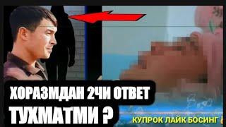 XORAZMLIK BOLA DAXSHAT FIKRINI AYTDI TEZ KO'RING
