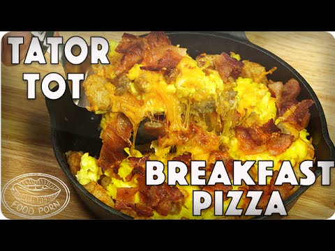 All the Things You Love Breakfast Pizza