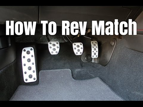 What Is Rev Matching  How to Heel Toe Downshift Smoothly  YouTube