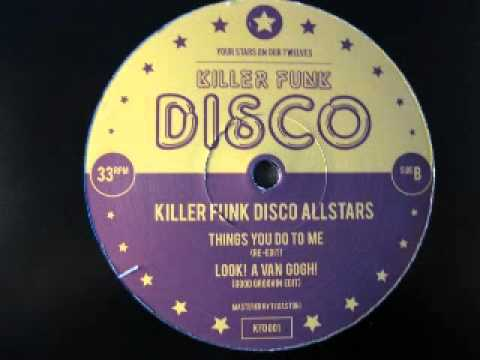 Killer Funk Disco Allstars - Going Back To My Boots (Because I Can't Find My Shoes Re Edit)