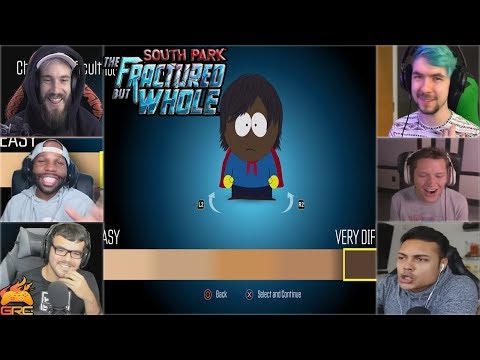 Thumbnail: Gamers Reactions to Choosing Difficulty | South Park™: The Fractured But Whole