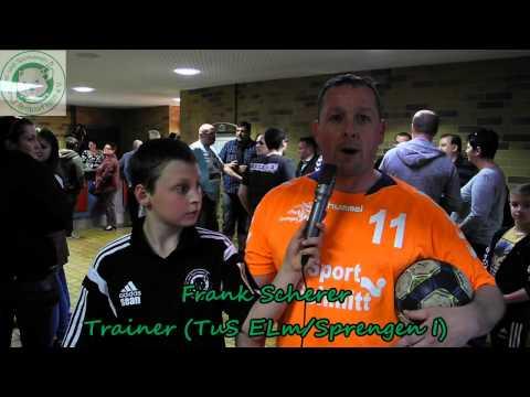 [Saarlandliga2014/2015] Interview nach Spiel gegen TuS Elm/Sprengen