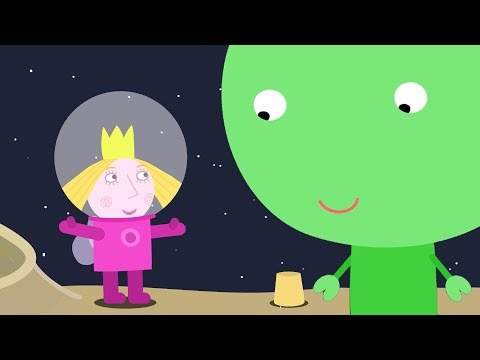 Маленькое королевство Бена и Холли на русском - Феи и Эльфы на луне - мультики для детей