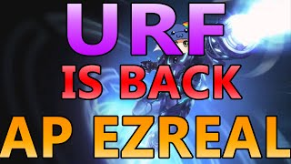 URF IS HERE! AP EZREAL (Ultra Rapid Fire League of Legends) - Full Gameplay Commentary