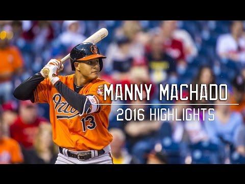 Manny Machado | 2016 Season Highlightsᴴᴰ