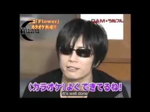 GACKT Flower Karaoke English Subs 06.27.2009