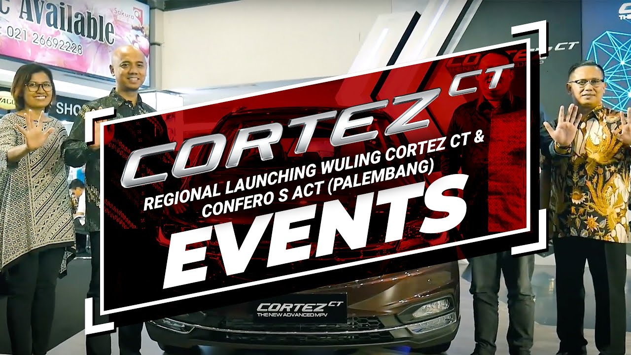 Car Dealerships In Ct >> Regional Launching Wuling Cortez Ct Confero S Act Palembang