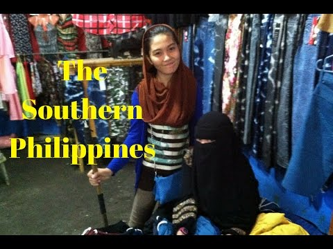 The Philippines, A Small Muslim Enclave in General Santos City Near Queen Tuna Park