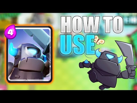 How To Use The MINI PEKKA In Clash Royale! Mini Pekka Offensive & Defensive Tips & Tricks