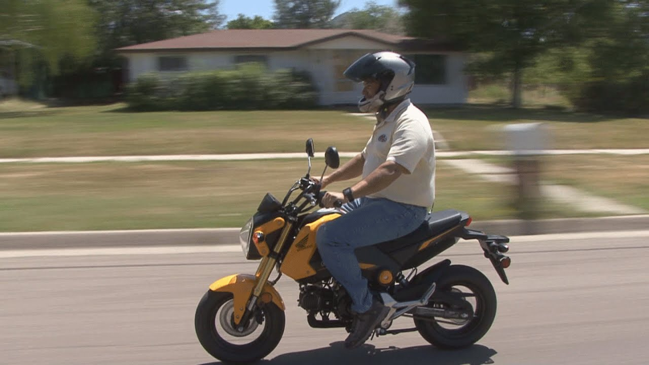 Honda Grom Review >> Honda Grom Review - YouTube