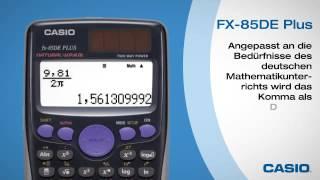 Casio FX 85 DE Plus* NEU