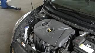 скрежет   или работа масло насоса Hyundai Elantra MD в бордели корпорации Богдан