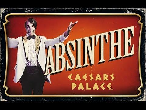 5* Review ABSINTHE at Caesars Palace Las Vegas