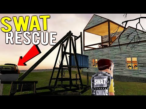 HOUSE DESTROYED BY SWAT TEAM DURING HOSTAGE RESCUE - Gmod Bendy + Hello Neighbor Multiplayer