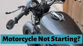 Reasons Why Your Motorcycle Won't Start