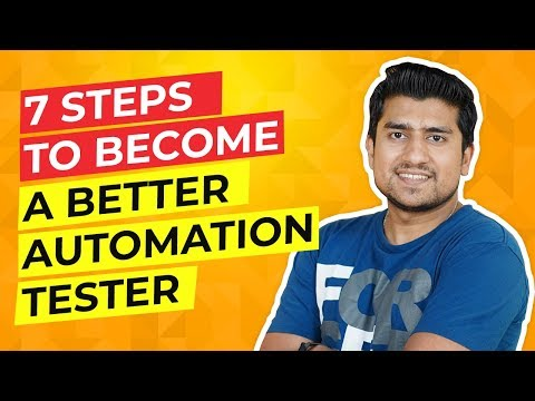 7 Steps to Become an Automation Tester ||  (Step by Step way to switch from Manual to Automation)