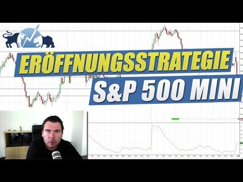 Eröffnungsstrategie im S&P 500 mini