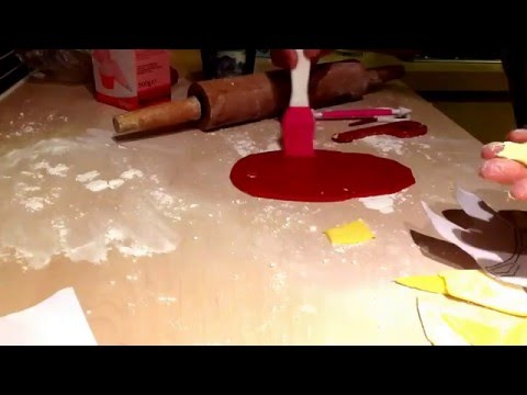 How to make an Ironman Cake , Large Cake topper from Fondant