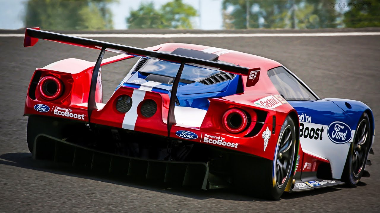 Ford Gt Acceleration Insane Exhaust Ford Gt  Sound