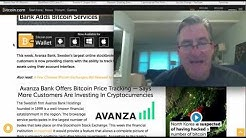 Sweden's Avanza Bank Offers Bitcoin Price Tracking