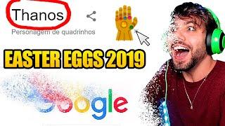 Os Novos EasterEggs Do Google **atualizado 2019**