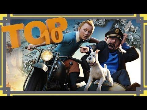 Top 10 Scenes - The Adventures of Tintin: The Secret of the Unicorn