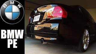 BMW N54 335xi Performance Exhaust - Warm Start-Up and Revvs