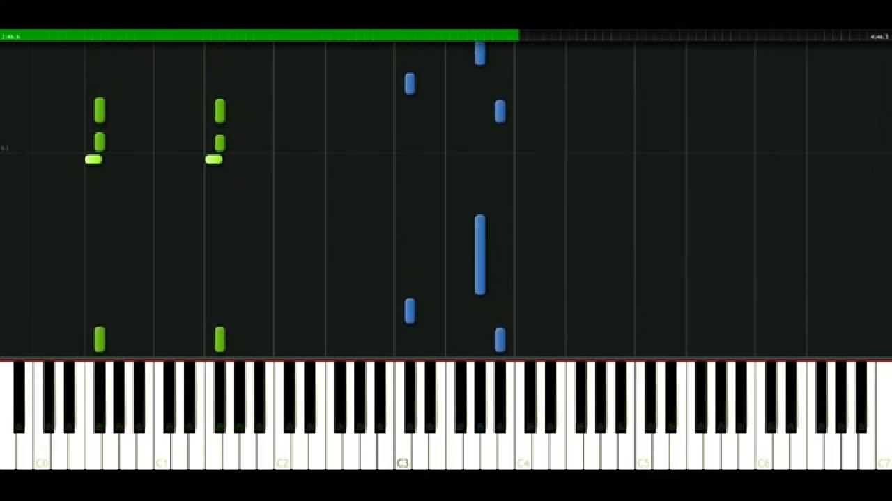 Puff Daddy - Satisfy You feat. RKelly [Piano Tutorial] Synthesia | passkeypiano