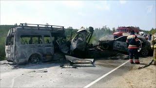 В Якутии прокуратура начала проверку по факту крупной дорожной аварии.