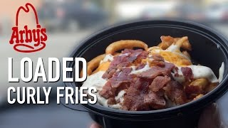 Arby's LOADED Curly Fries