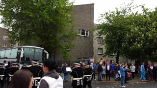 Newtown Defenders Irvine flute band Parade
