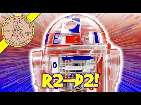 R2-D2 Droid Inventor Kit - Star Wars Toy! Patriotic Robot Ki