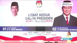 Apa Benar Jokowi Pakai Earphone Saat Debat Kedua Capres? - JPNN.COM