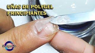ACRYGEL / POLYGEL TUTORIAL UÑAS ESCULTURALES SIN MOLDE Deasynails como hacer uñas acrygel