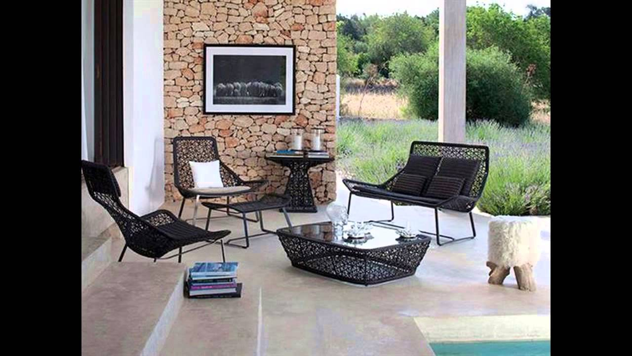 Mid Century Modern Patio Furniture mid century modern outdoor furniture - youtube