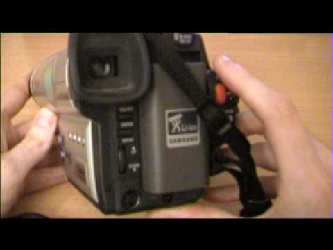 samsung vp w80 hi8 camcorder review youtube rh youtube com Samsung Camcorder Parts Mini DV Manual
