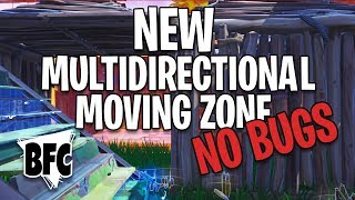 REAL MOVING ZONE TRAINING V2 !! | * FORTNITE CREATIVE *