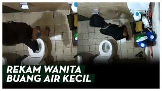 VIRAL Video Pria Letakkan Kamera Ponsel Di Toilet Untuk Rekam Wanita Buang Air Kecil