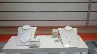 Обзор ювелирных украшений. Колье с жемчугом, жемчужные бусы и кольцо с жемчугом
