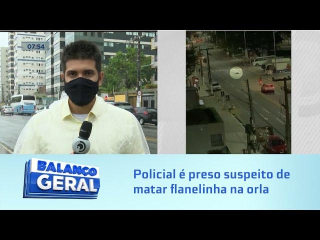 Assassinato na Pajuçara: Policial penal é preso suspeito de matar flanelinha na orla