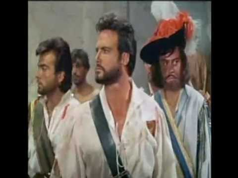 Steve Reeves is pirate Henry Morgan,part 3,music Black Tulip