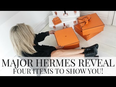 HERMES REVEAL NUMBER THREE (FOUR NEW HERMES ITEMS TO SHOW YOU) | IAM CHOUQUETTE