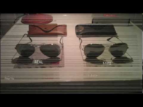 ray ban 3025 fake vs real