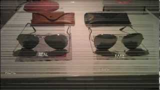 How to recognize Ray Ban aviator 3025 REAL vs. FAKE(Comparison of my real and fake ray ban! Model RB 3025 aviator large metal w3277 (silver) 58x14 3N Thanks for watching!